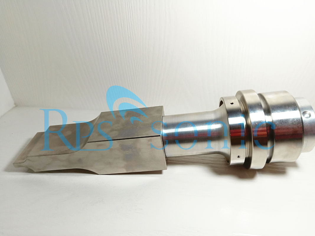 Titanium Ultrasonic Booster With Horn For Rinco C20 Ultrasonic Welding Connect